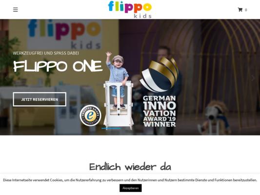 Flippo Kids Website