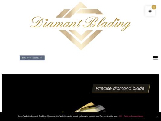Diamant Blading Website