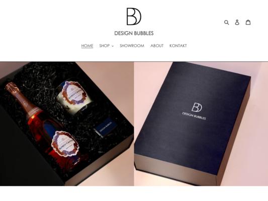 Design Bubbles Website