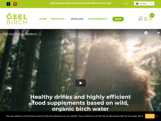 ÖselBirch Website