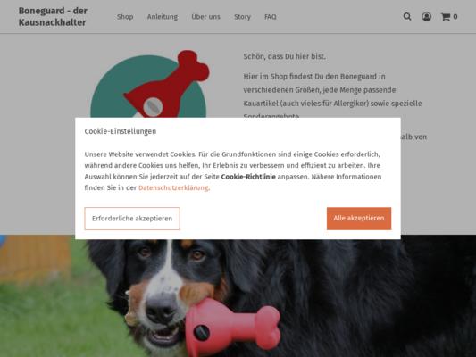 Boneguard Website