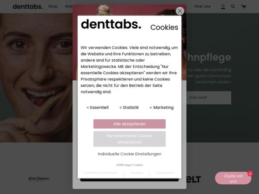 Denttabs Website