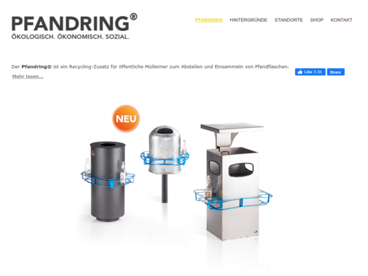 Pfandring Paul Ketz Website