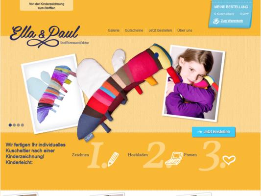 Ella & Paul Website
