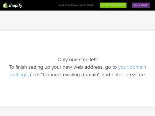 Prezit Website