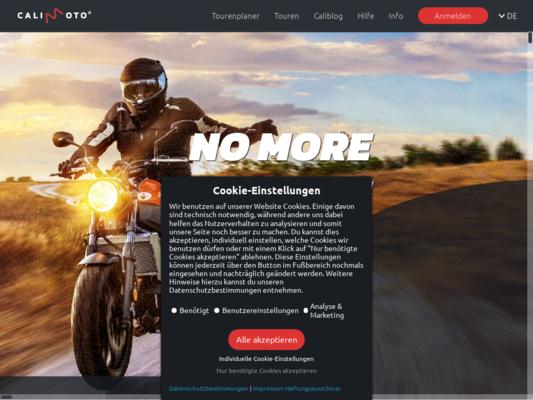 Calimoto Website