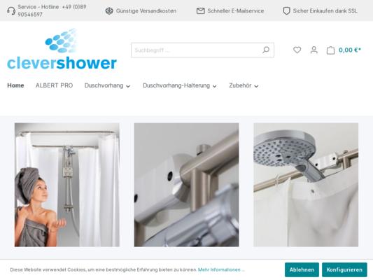 Clevershower Website