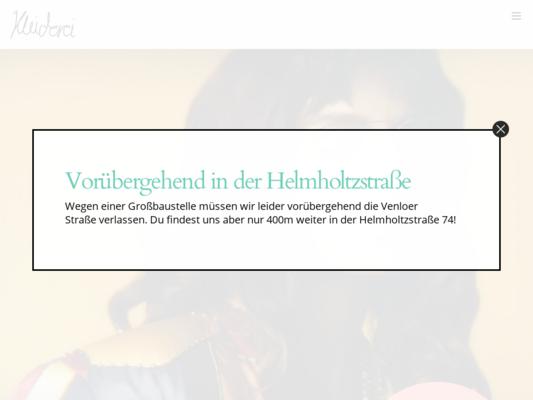 Kleiderei Website