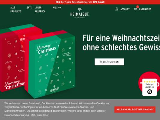 Heimatgut Website