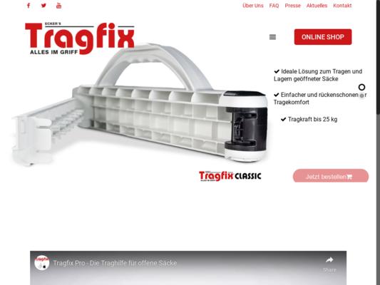 Tragfix Website