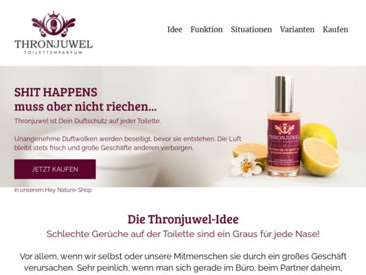 Thronjuwel Website