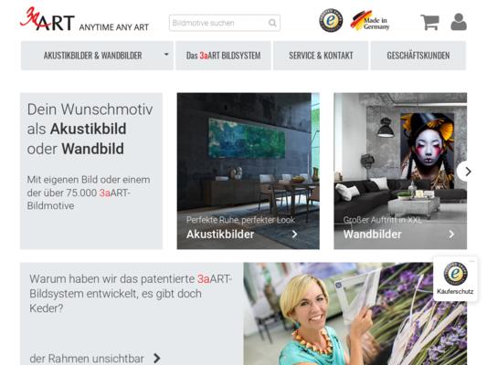 3aART Website