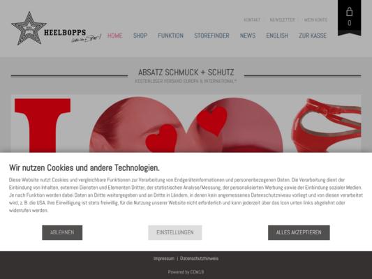 Heelbopps Website