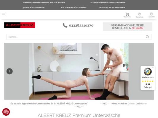 Albert Kreuz Website
