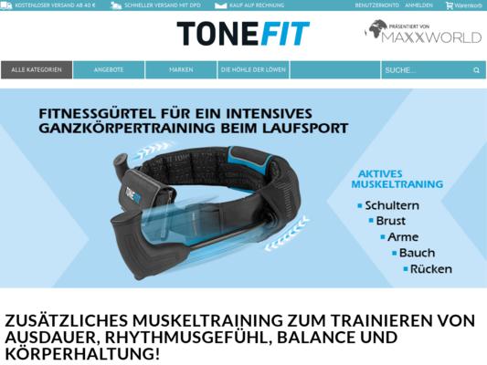 TONEFIT Website
