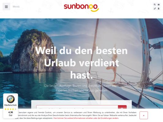 Sunbonoo Website