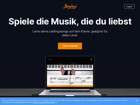 flowkey Website