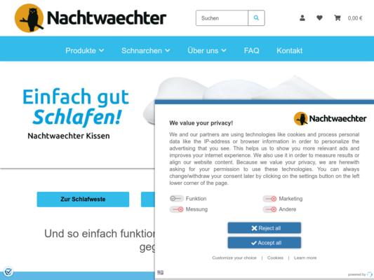 Nachtwaechter Website