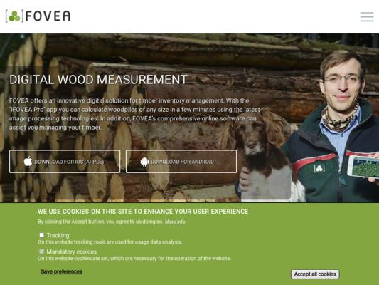 FOVEA Website