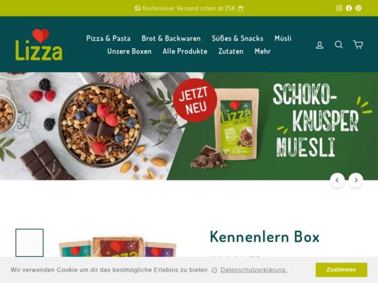 Lizza Website