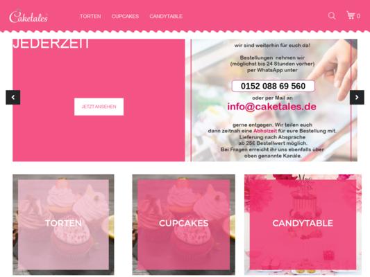 Caketales Website