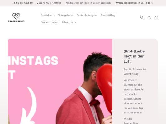 Brotliebling Website