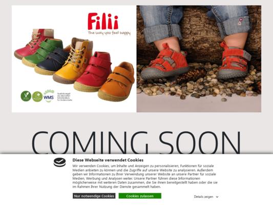 Filii Barefoot Website
