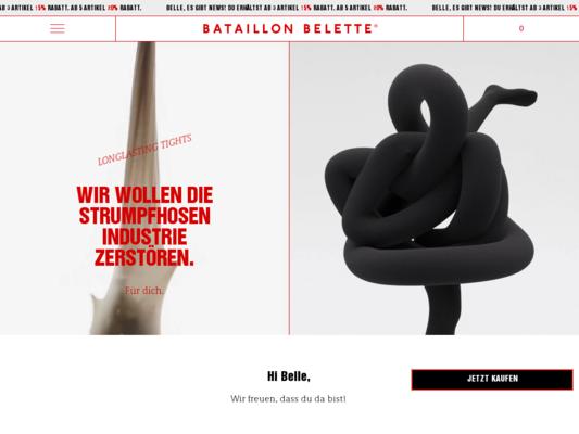 Bataillon Belette Website