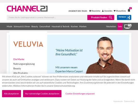 Veluvia Website