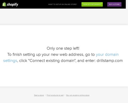 Drillstamp Website