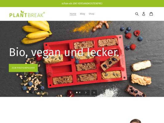 PLANTBREAK Website