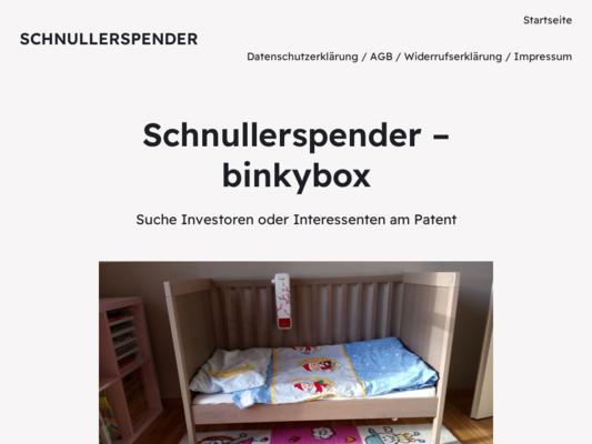 binkybox Website