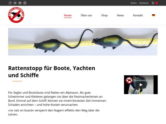 no rats on board Website