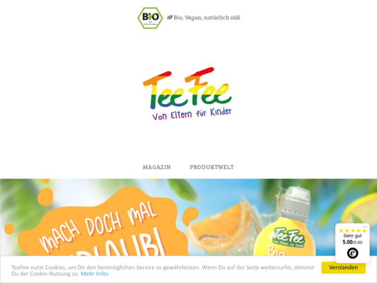 TeeFee Website