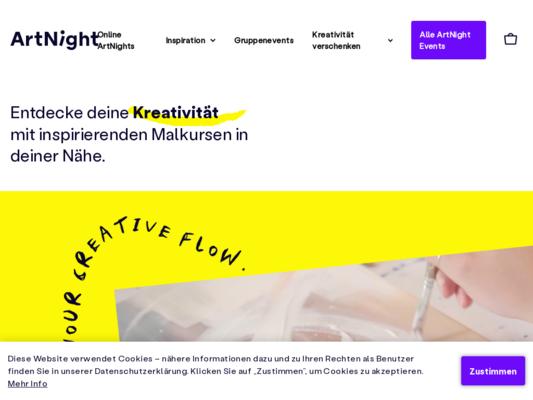 ArtNight Website