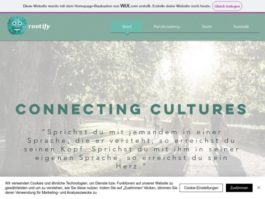 Rootify Website