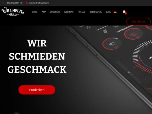 Willhelm Grill Website