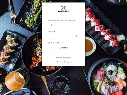 Foodguide Website