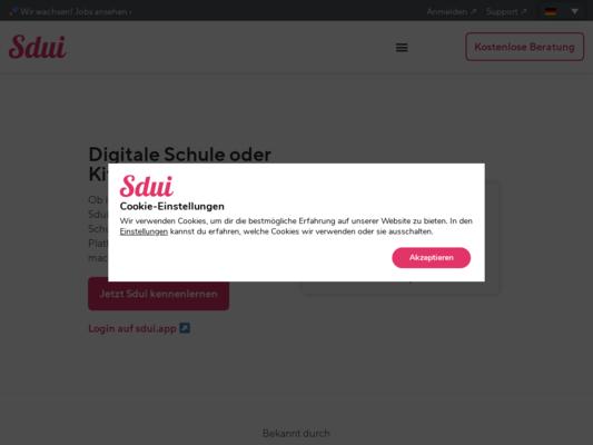 Sdui Website