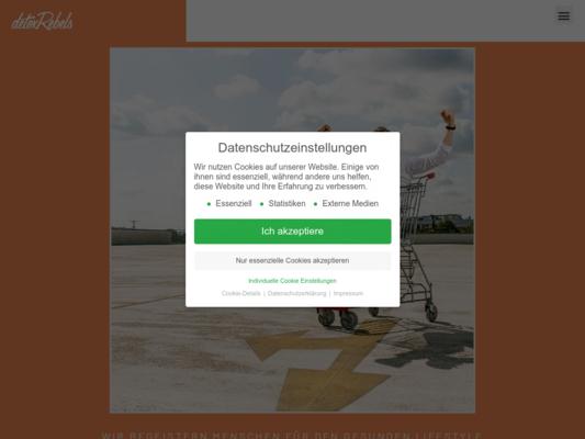 detoxRebels Website