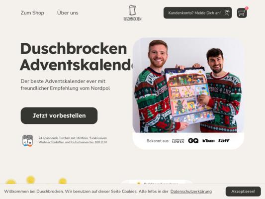 DUSCHBROCKEN Website