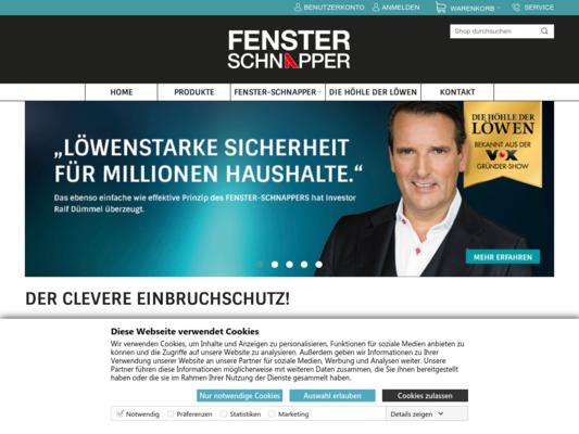 Fenster Schnapper Website