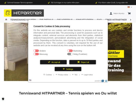 HitPartner Website