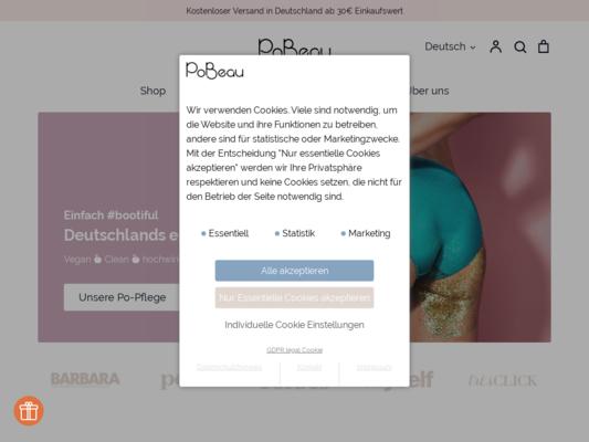 PoBeau Website