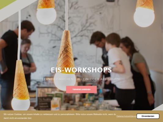 Luicella's Ice Cream Website