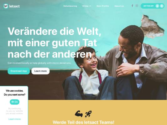 LetsAct Website