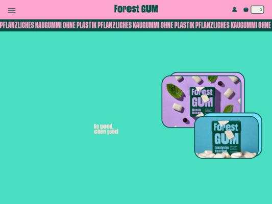 Forest Gum Website