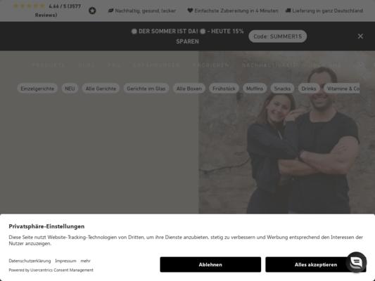 Fit Taste Website