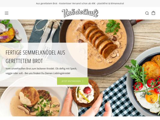 Knödelkult Website