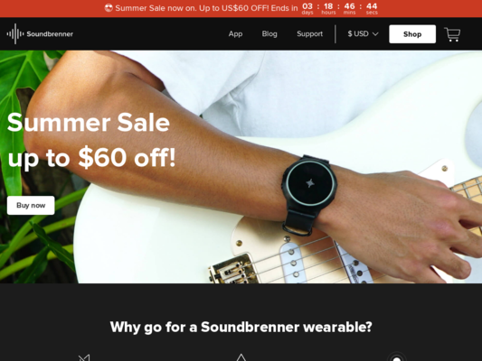 Soundbrenner Website
